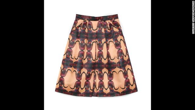 Pleated skirt by Prada