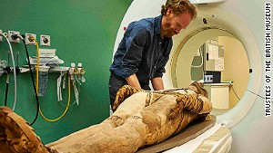 Egypt's mummies get virtually naked