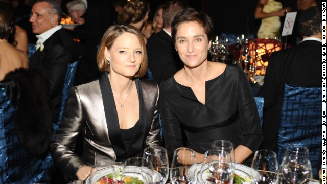 Jodie Foster, left, is adept at keeping her private life low-key. The actress quietly wed her girlfriend, photographer Alexandra Hedison, in mid-April. According to E! Online, the couple had been dating for almost a year.