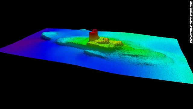 The NOAA team rediscovered what they thought was the City of Chester while surveying another nearby shipwreck. High-resolution sonar imagery clearly defined the hull and the fatal gash on the vessel's port side.