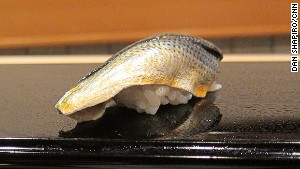 Gizzard shad -- herring, but different.