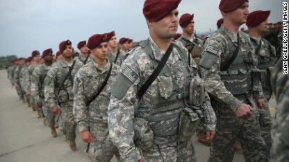 U.S. troops go into Poland amid turmoil