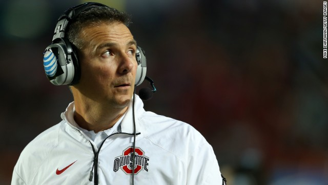 "<strong>Ohio State head football coach Urban Meyer:</strong> ""Students should get more than what they get,"" Meyer told the Ohio State student newspaper, The Lantern. ""But it gets so complicated. ... (T)o say they should go out and get their own shoe contracts and things ... I start hearing that and I'm like, 'Whoa. What could that do for this great sport? And really, what would that do for college athletics as a whole?"""