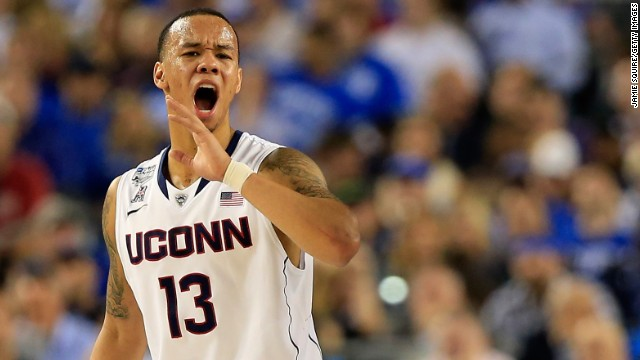 "<strong>UConn basketball star Shabazz Napier:</strong> ""Sometimes, there's hungry nights where I'm not able to eat, but I still gotta play up to my capabilities,"" Napier told reporters just days before leading Connecticut to the NCAA men's championship. (After Napier's comments, Connecticut state Rep. Matthew Lesser told CNN he'll be drafting a bill next session that will allow athletes at state universities to vote to unionize.)"