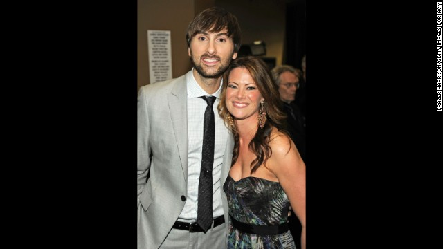 Dave Haywood has something to sing about it. The Lady Antebellum singer/guitarist and his wife, Kelli, are expecting their first child in September. They revealed on Twitter that they're anticipating a baby boy.