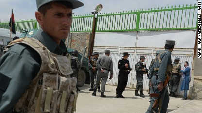 Americans killed in Afghan hospital
