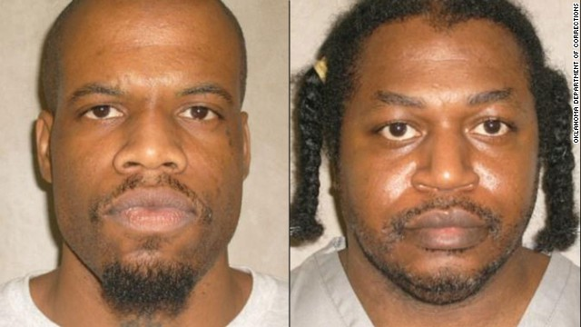 The execution of Clayton Lockett, left, was stopped was stopped because of problems in administering the drugs. He later died. Charles Warner was to be executed the same day.