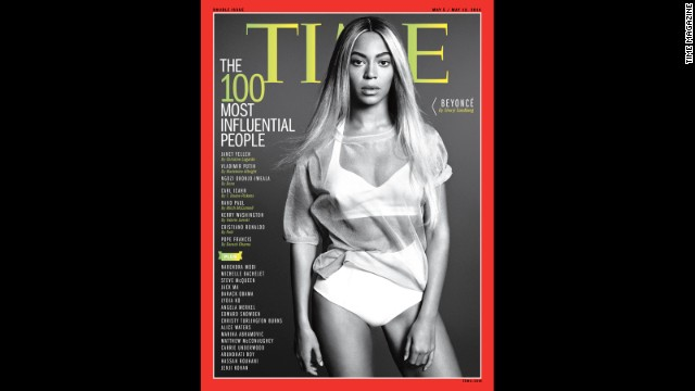 Time magazine has praised Beyonce as an industry tastemaker. In April, the magazine called Bey one of the 100 most influential people in the world.