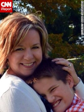 """Communication isn't just about using words,"" says <a href='http://ireport.cnn.com/docs/DOC-1113862'>Angie Swearingen</a>, whose son, Trey, didn't speak from age 1 to 5. ""It's about us using the right words with him, and communicating frequently."""