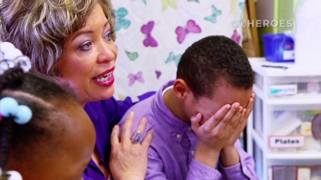 Ayudando a sanar a los niños de Baltimore que sufren