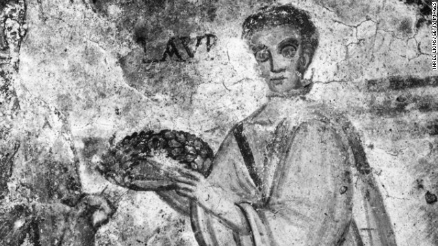 """St. Lawrence is the patron saint of cooks, for a macabre reason. Legend has it that when Lawrence was burnt at the stake he taunted his torturers by saying, """"Turn me over, I'm well done!"""""""