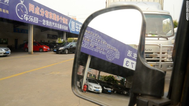 Used cars are also sold at large markets such as the Dongguan Used Cars Trading Center. The used car business is relatively young in China.