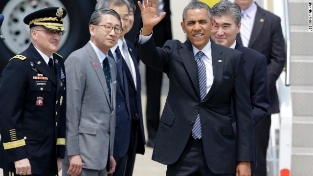 Possible North Korea Nuclear Test Looms Over Obama's Visit to South Korea