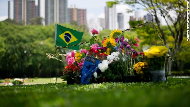 The anniversary of Senna's death will also be commemorated in Brazil. Many still make the visit to his grave in Sao Paulo's Morumbi Cemetery to pay tribute to a national hero.