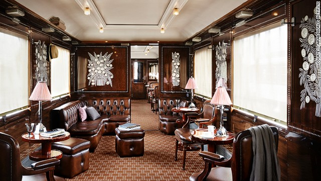 Organized by the World Arab Institute and the French national rail company SNCF, the exhibition highlights the luxury that travelers experienced on board this icon of transport. The Train Bleu offers a view of a sumptuous salon, with books and newspapers strewn across its mahogany tables, and a coat left nonchalantly on a chair.
