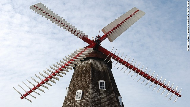 Shortly after this authentic structure was disassembled and shipped to Iowa in 1976, a law was passed in Denmark to prevent the exportation of its windmills.