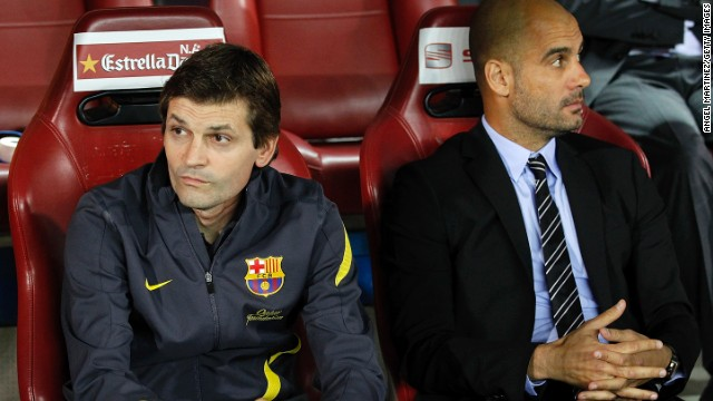 55348692c Tito Vilanova worked under Pep Guardiola as his assistant at Barcelona  between 2008-2012.