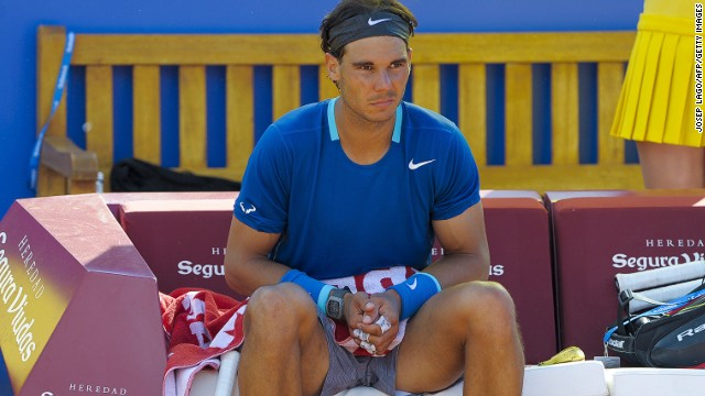 Rafael Nadal comes to terms with defeat in Barcelona as his 41-match winning streak ends