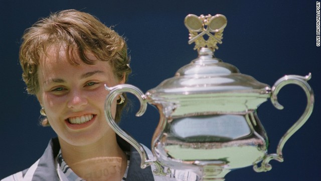 ... The answer is yes! Hingis defeats Mary Pierce of France to win the Australian Open and becomes the youngest grand slam winner aged 16 years, three months and 26 days.