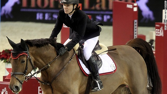 More time away from tennis allows Hings to pursue her lifelong hobby of horse riding.