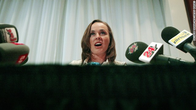 Hingis won five grand slam singles titles in her career but injuries -- and allegations over a failed drug test -- prompt the Swiss star to announce her retirement in 2007.