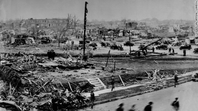 "4. The ""Tupelo Tornado"" killed 216 people and injured 700 on April 5, 1936, in the northeastern Mississippi city."