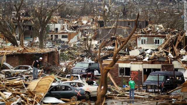 <strong>7.</strong> The <a href='http://www.cnn.com/2012/05/17/us/impact-joplin-tornado-anniversary/index.html' target='_blank'>tornado that struck Joplin, Missouri</a>, on May 22, 2011, killed 158 people and injured more than 1,000. The storm packed winds in excess of 200 mph and was on the ground for more than 22 miles.