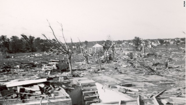 "10. The ""Flint Tornado"" killed 115 people and injured 844 on June 8, 1953, in Flint, Michigan. The tornado was the deadliest twister ever recorded in the state."