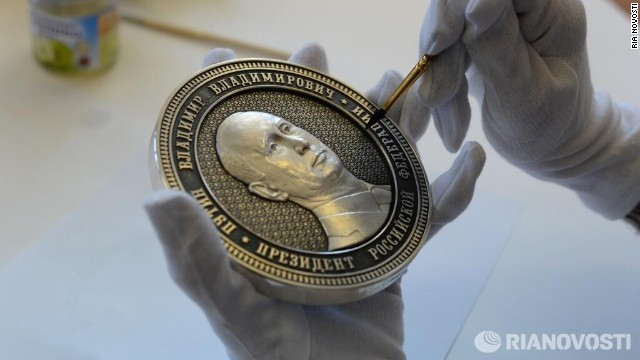 A new coin commemorates Russia's