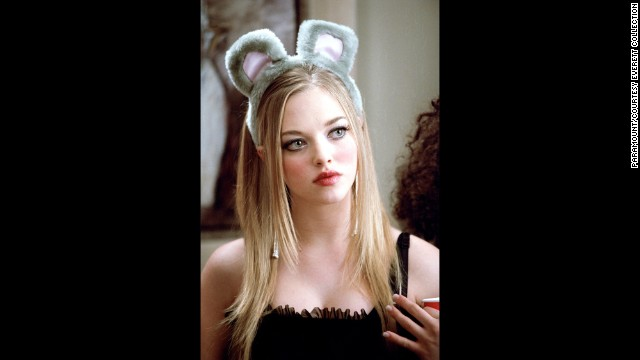 Amanda Seyfried plays Karen Smith, the ditziest member of the Plastics.