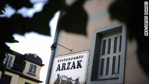 Arzak, one of seven Spanish top 10 winners.