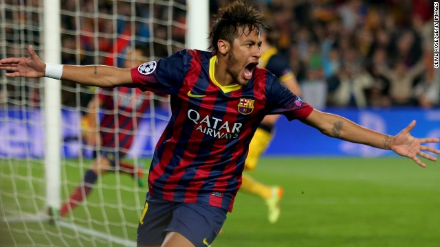 Barcelona have struggled during Neymar's first season at the club, having lost in the Spanish Copa del Rey final to Real Madrid and been knocked out of the Champions League, while a Spanish La Liga title looks unlikely.