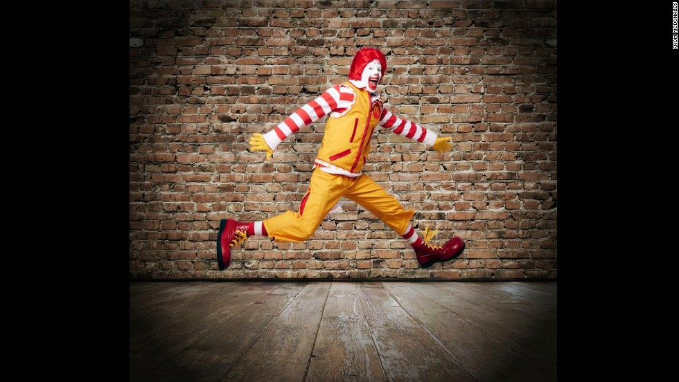 The famous fast-food clown is back in the spotlight as McDonald's <a href='http://www.cnn.com/2014/04/25/tech/social-media/apparently-this-matters-ronald-mcdonald/'>re-introduced Ronald McDonald </a>on Wednesday, April 23. Ronald, who has been the face of the company since 1963, was shown to the public with a fresh wardrobe that included cargo pants, a technical vest, and a red and white striped rugby shirt. But he isn't the only well-known clown in the biz. Take a look at other memorable clowns from throughout the years.