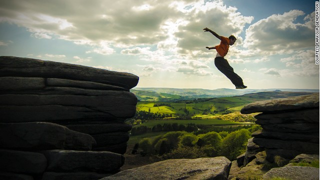 Parkour needn't be restricted to urban environments -- it can be practiced practically anywhere. It encourages self-expression, discovery, and freedom.