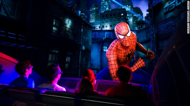 This ride at the Islands of Adventure park in Orlando, Florida, has realer-than-real-life 3D effects and has been awarded the best dark ride for 12 consecutive years by Amusement Today's Golden Ticket award.