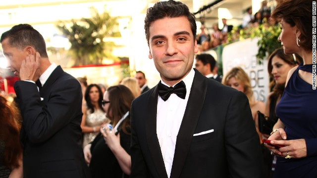 "Oscar Isaac had a breakthrough role in 2013 as the cranky singer-songwriter Llewyn Davis in the drama ""Inside Llewyn Davis."" We can't imagine his work in ""Star Wars: Episode VII"" will require him to sing, but it would be awesome if it did; Isaac has proved he's got a great set of pipes."