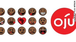 Oju Africa launches first ever black emoticons
