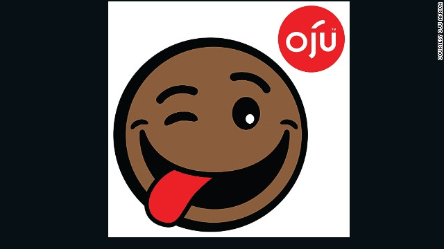 "Patel says that he wants Oju to become an iconic African logo, in the manner of Mickey Mouse or Hello Kitty : ""If you look at the main logo with the tongue sticking out, he's a cheeky, very friendly, cool African character that also works in digital by the smilie, but also in non-digital by traditional character licensing."" Patel wants to see it stamped on cereal packers, nappies and even made into toys."