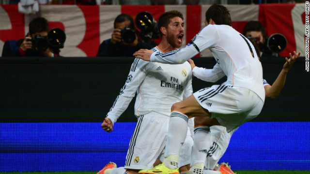 Sergio Ramos was the unlikely hero for Real Madrid, scoring twice in four minutes during a frantic first half. Ramos headed home Luka Modric's corner on 16 minutes to give his side a 1-0 lead on the night, 2-0 on aggregate.