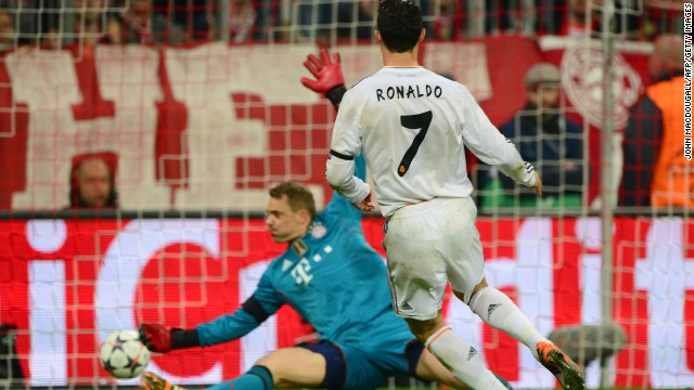 Cristiano Ronaldo added a third 11 minutes before the interval after finishing off a sweeping move involving Karim Benzema and Gareth Bale.