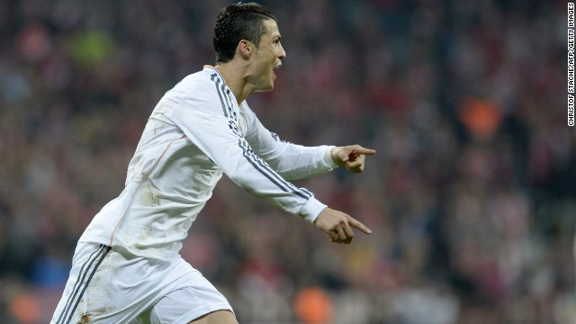 Ronaldo scored his second of the game late on with a free-kick which flew beneath the Bayern wall and capped an astonishing 4-0 win on the night, a 5-0 aggregate victory.