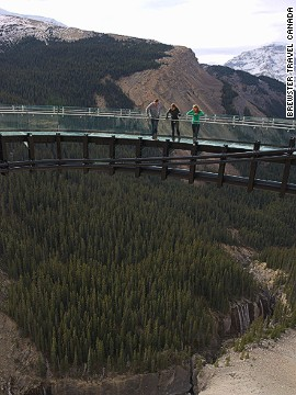 Owned by Brewster Travel Canada, the Skywalk took two years to build -- work could only be carried out seasonally due to Jasper National Park's cold winters. It reportedly cost CAD$21 million ($19 million) to construct and will be open May through October.