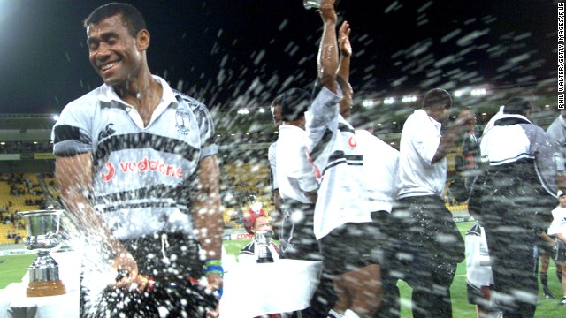 Serevi's sevens career spanned 17 years and included numerous champagne moments. He tasted victory at the Hong Kong Sevens on seven occasions.