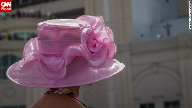 Pink is the preferred color at the Oaks in support of breast cancer awareness.