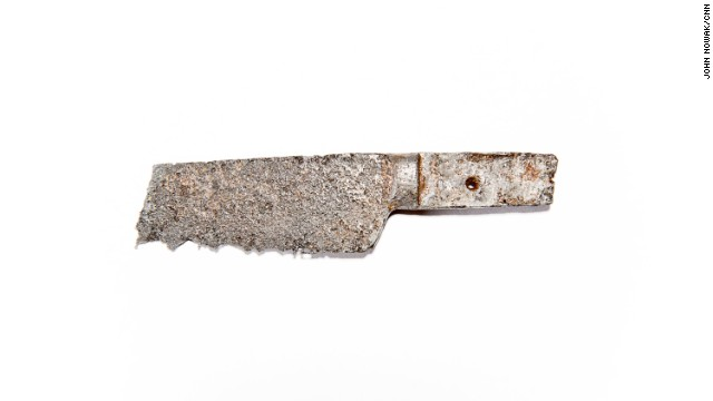 "The remains of a kitchen knife were found in the prisoner area. Unlike many Civil War sites, Camp Lawton has not been picked over by relic hunters because it only existed for a few months before being hastily abandoned when Maj. Gen. William Sherman's army marched through Georgia. It was soon ""lost"" to history. Farmers worked the area and, eventually, trees and brush returned."