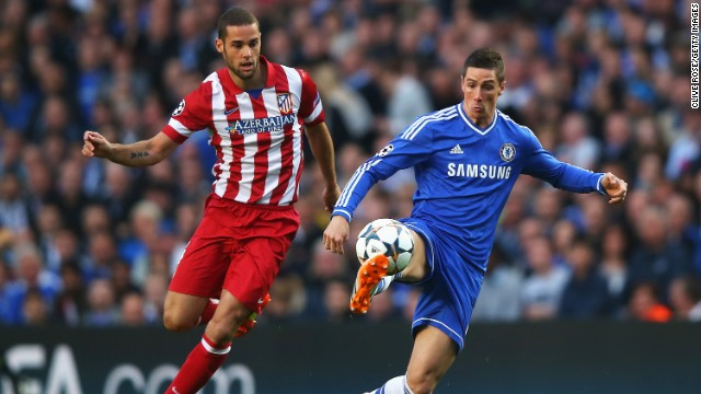 Chelsea and Atletico Madrid locked horns in the second leg of their Champions League semifinal tie following a 0-0 draw in the Spanish capital last week.