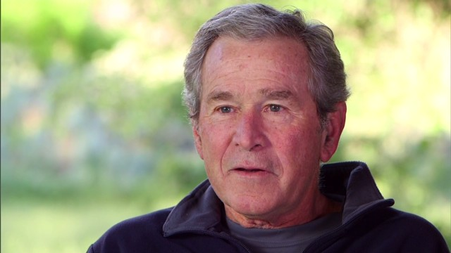 George W. Bush has second partial knee replacement