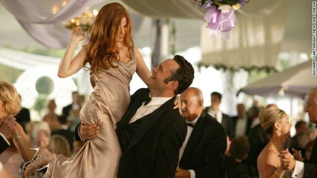 "Everyone loves a good wedding movie -- especially when the guests are behaving terribly. Here are a few of our favorite faux pas from films. ""Wedding Crashers"": Vince Vaughn and Owen Wilson make a habit of crashing strangers' weddings, feasting on the freebies and occasionally making, uh, friends with tipsy bridesmaids such as Isla Fisher, left, in this 2005 comedy."