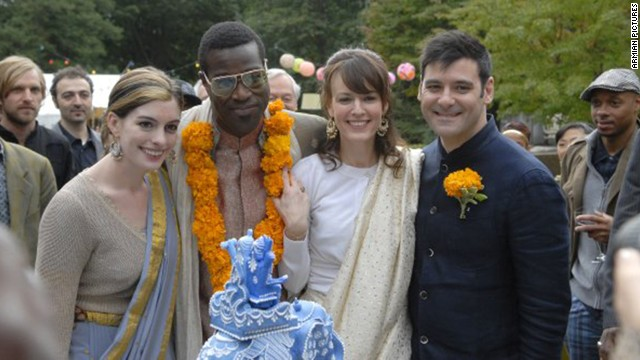 "<strong>""Rachel Getting Married"":</strong> A bride (Rosemarie DeWitt, second from right) has enough to worry about without wondering if her sister (Anne Hathaway, left), freshly released from rehab, is going to spoil the wedding day with her bad behavior in this 2008 film."
