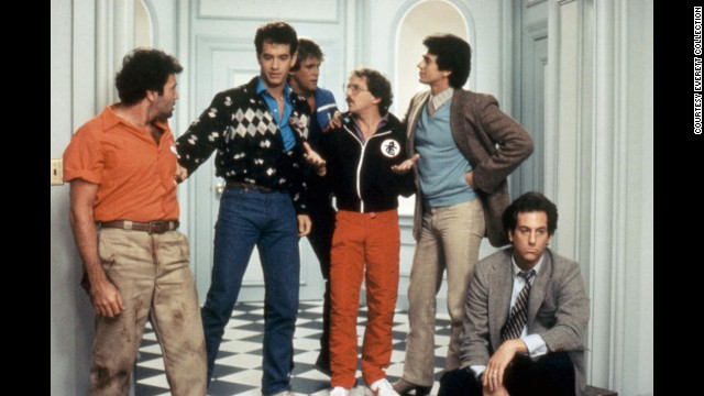 """Bachelor Party"": In this 1984 flick, Tom Hanks plays a good-guy bachelor taken aback when his friends throw him the debauched evening of a lifetime -- complete with some very adult entertainment."